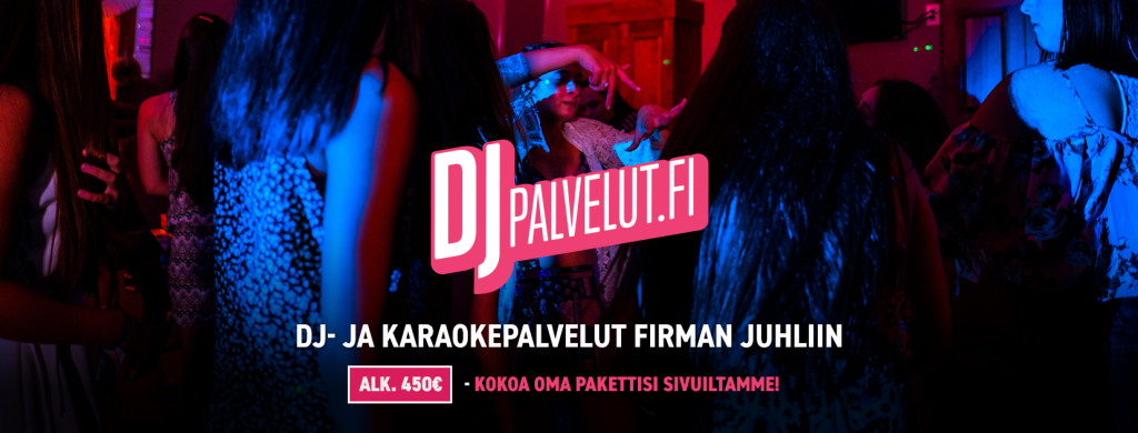 Dj Firman juhliin DJ palvelut Tampereella - HääDJ, BileDJ, Dj Turku, Dj Helsinki, Dj Lahti, Dj Jyväskylä, Dj rauma, Dj Espoo, Dj Vantaa Dj Juhliin,